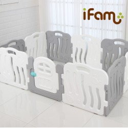 iFam Shell Baby Room (M) 198 x 133 x 60cm (Gray/Blue/Pink) IF-056-03