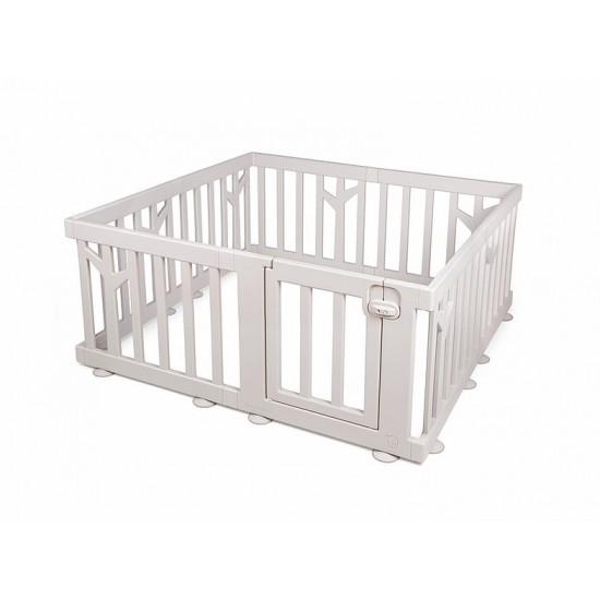 iFam Birch Baby Room 146x146x62.5cm (Brown/White)