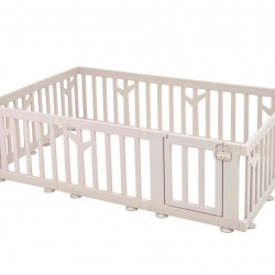 iFam Birch Baby Room 217 x 146 x 62.5cm (Brown/White)