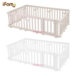 iFam Birch Baby Room 217 x 146 x 62.5cm (Brown/White)