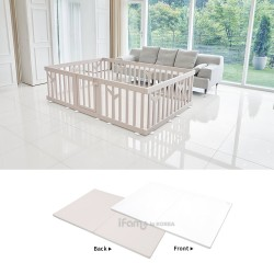 [Official Goods] iFam  Birch Baby Room + RUUN Birch Playmat