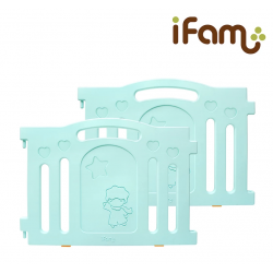 iFam Marshmallow Baby Room Panels (2pcs) 90.5 x 64.5cm