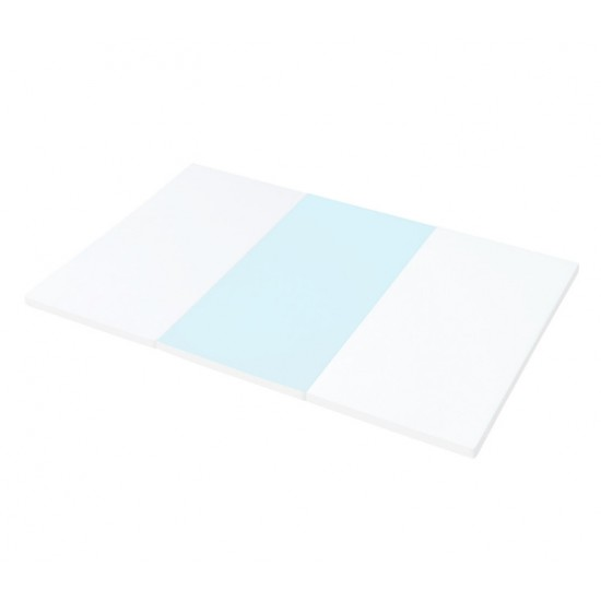 iFam RUUN Shell Double-sided Playmat (M) 189 x 125 x 4cm (Gray&White/Blue&White) RU-3S