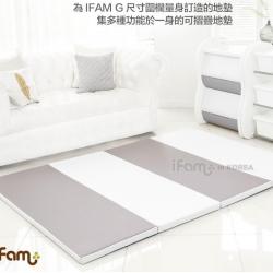 iFam RUUN Shell Playmat Mint/Grey 237x141x4cm (L)