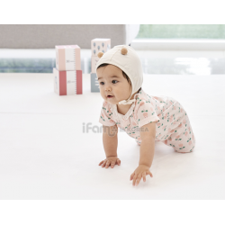 [Official Goods] iFam RUUN Birch Playmat 212x140x4cm (Brown/White)