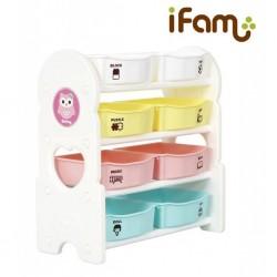 iFam Toy Storage (4 Shelves) 76 x 36 x 88cm