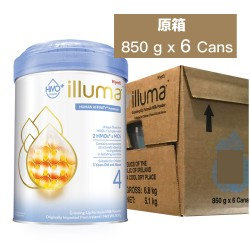 Wyeth illuma HMO Stage 4 850g (6 Cans)